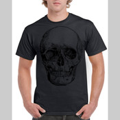 BlackSkull - Men's 'Gildan' Regular Fit Sturdy Cotton T Shirt