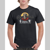 Hogs Heads - Men's 'Gildan' Regular Fit Sturdy Cotton T Shirt