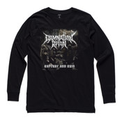 Rapture and Ruin - Men's Base Long Sleeve Cuff T Shirt by 'As Colour '