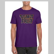 Vomit Purple - Men's 'Gildan' Slim T-Shirt