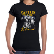 Captain Tragic - Rides out -  - Women's 'Gildan' Slim T-Shirt